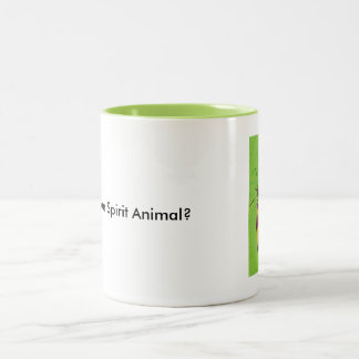 Spirit Animal Butterfly Two-Tone Mug