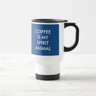 Spirit Animal Travel Coffee Mug