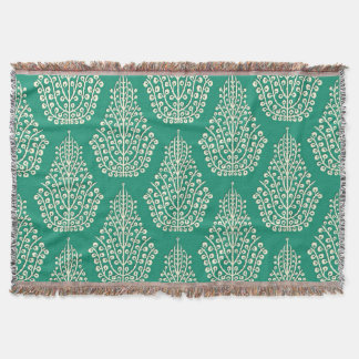 SPIRIT jade cream Throw Blanket