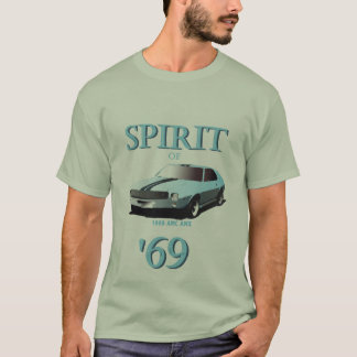 Spirit of '69 Muscle Car T-shirt