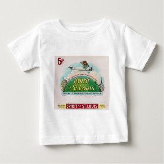 Spirit of St. Louis Vintage Cigar Label Retro Baby T-Shirt