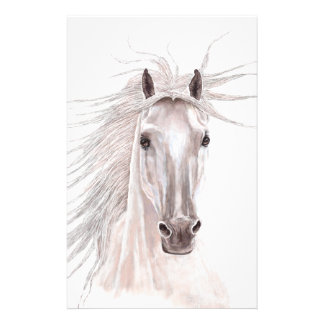 Spirit of the Wind Horse -vintage- Stationery Paper