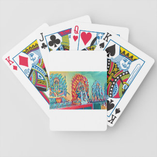 Spiritual Fire Bicycle Playing Cards