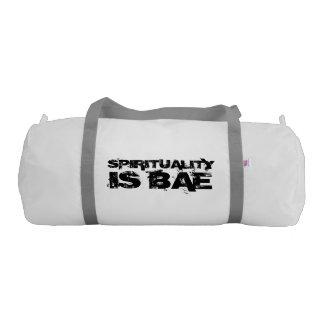 SPIRITUALITY IS BAE Gym Bag Gym Duffel Bag