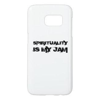 SPIRITUALITY IS MY JAM Galaxy 7 Case