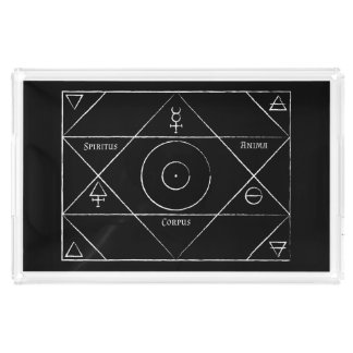 Spiritus Anima Corpus Serving Tray