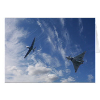 Spitfire and Typhoon Card