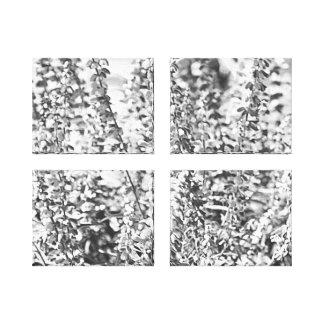Splash of Pearl - Flowers Multi Set Canvas Print