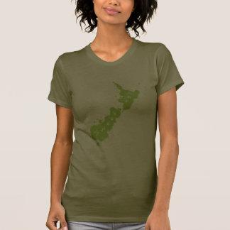 Splatter Green NZ Sweet As Dark T-Shirt 2