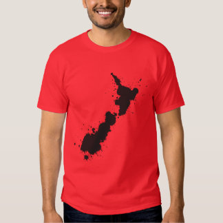 Splatter NZ Basic Dark T-Shirt