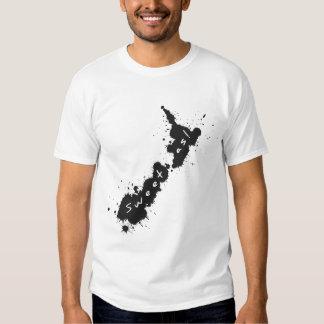 Splatter NZ Sweet As Dark T-Shirt 1