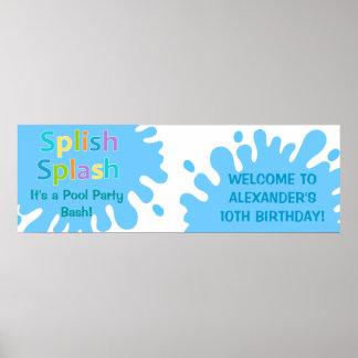 Splash mountain font download