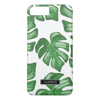 Split Leaf Philodendron Custom iPhone 8 Plus Case
