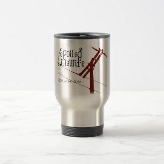 Spoiled Linewife Travel Mug