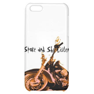 Spoke and She Listened Phone 4g Case iPhone 5C Case