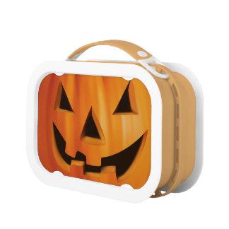 Spooky Jack O Lantern Pumpkin - Happy Halloween Lunchbox