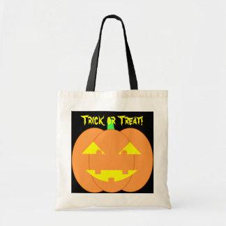 Spooky Orange Jack-o'-Lantern