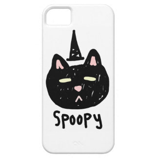 Spoopy Cat Barely There iPhone 5 Case