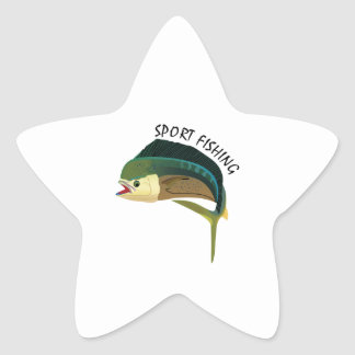 SPORT FISHING STAR STICKER