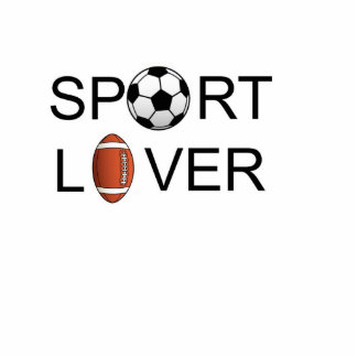 Sport Lover Keychain Photo Cut Out