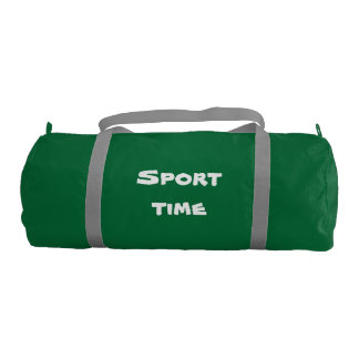 sport stock market gym duffel bag