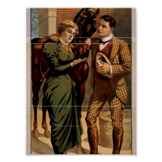 Sporting Life, 'Lord Woodstock and his Lady Loves' Print