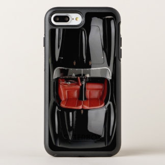 Sports Car Black iPhone X/8/7 Plus Otterbox Case