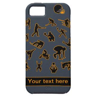 Sports Fanatic custom iPhone 5 case-mate Tough iPhone 5 Case