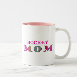 """""""sports"""" mom - more sports activities available Two-Tone coffee mug"""