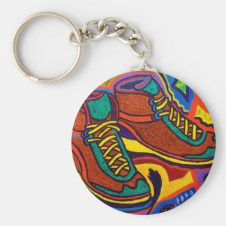 Sports Sneakers by Piliero Key Ring