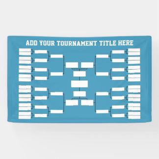 Sports Tournament Bracket - can change back colour Banner