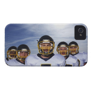 sportsmen standing together with sky in iPhone 4 cover