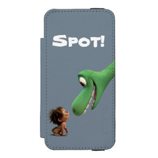 Spot And Arlo Closeup Incipio Watson™ iPhone 5 Wallet Case
