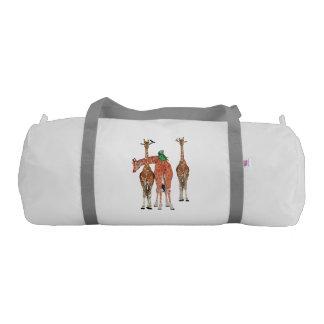 SPOTS & FEATHERS DUFFLE BAG GYM DUFFEL BAG