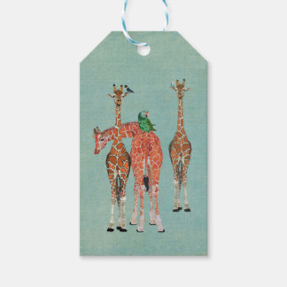 SPOTS & FEATHERS Gift Tag