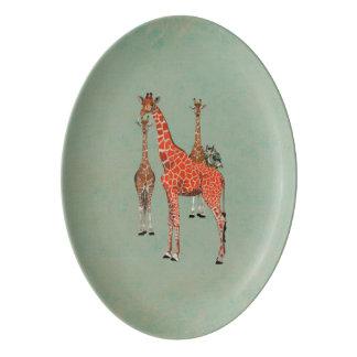 Spots & Feathers Platter