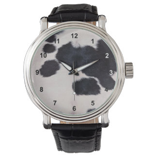 SPOTTED COW HIDE WATCH