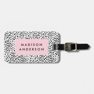 Spotted Luggage Tag