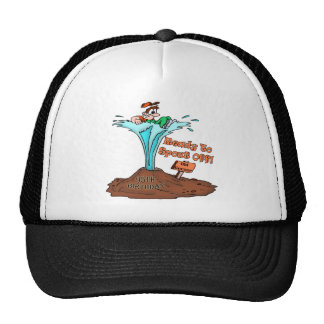 Spout Off 95th Birthday Gifts Cap
