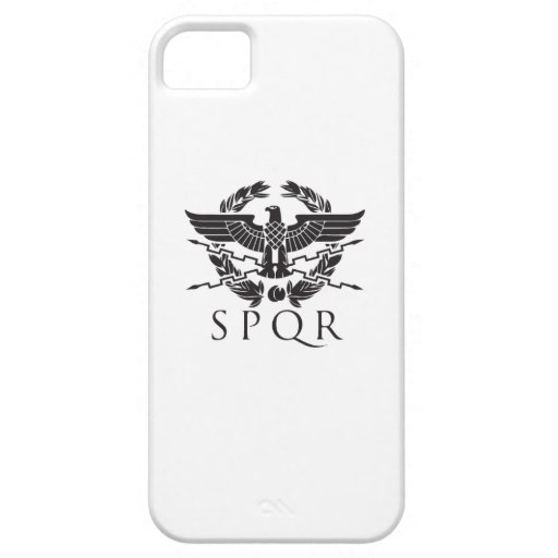spqr hemblem.ai iPhone 5/5S covers