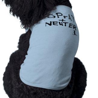 """""""SPrAY+NEUTER"""" No.2 Dog Clothing"""