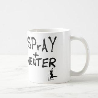 """""""SPrAY + NEUTER"""" No. 2 Coffee Mugs"""