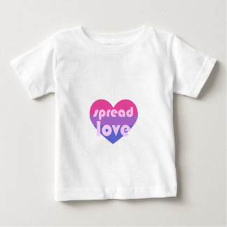 Spread Bisexual Love Baby T-Shirt