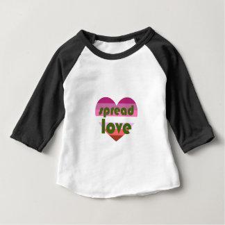 Spread Lesbian Love Baby T-Shirt