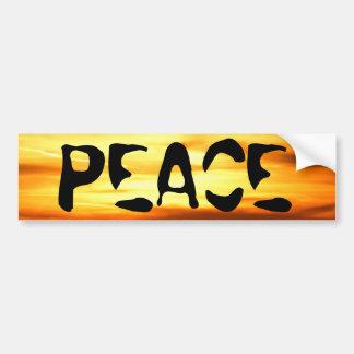 Spread Peace Bumper Sticker