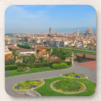 Spring blooms in Florence Coaster