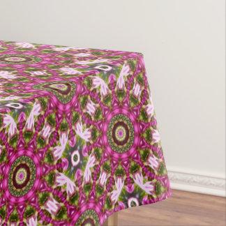 Spring blossoms, pink, Flower-Mandala, Nature Tablecloth