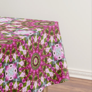 Spring blossoms, pink, Flower-Mandala, Nature Tablecloth