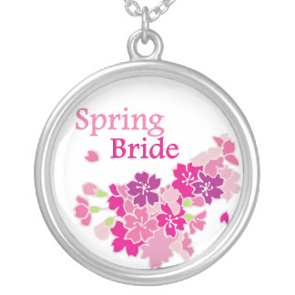 Spring Bride Pendant Necklace