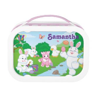 Spring Celebration Egg Hunt Lunch Box